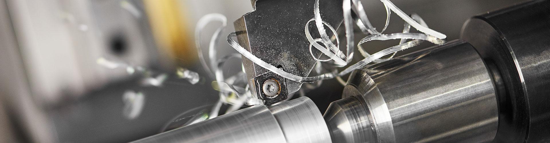 CNC-Drehen eines Werkstücks
